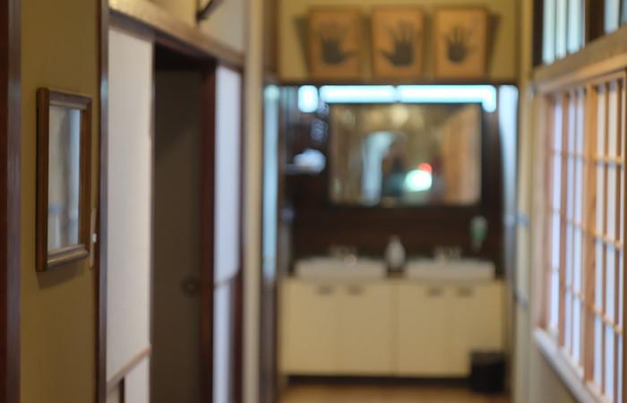 玉椿旅館 廊下